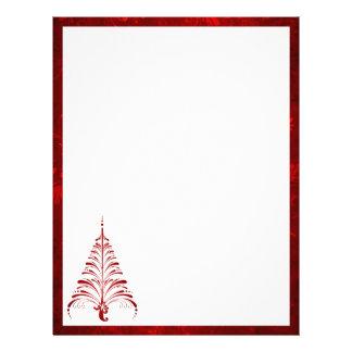 Elegant Christmas Tree Letterhead