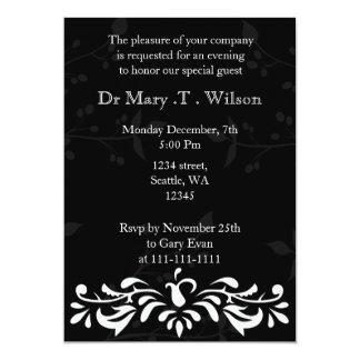 """Elegant Corporate party Invitation 5"""" X 7"""" Invitation Card"""