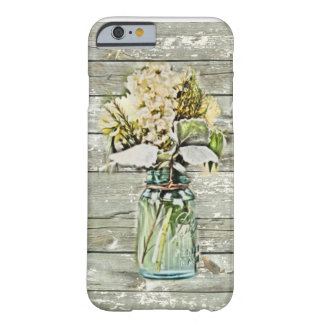 Elegant country floral damask vintage barely there iPhone 6 case