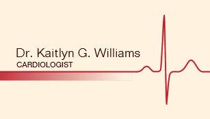 Cardiology Nurse Business Cards Zazzle Nz