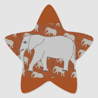 Elegant Elephant Stickers