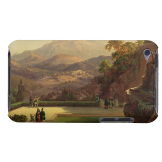 Elegant Figures Conversing on a Terrace, Sintra, P Barely There iPod Cover