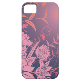 Elegant floral iPhone 5 5s case decorative flowers Cover For iPhone 5/5S