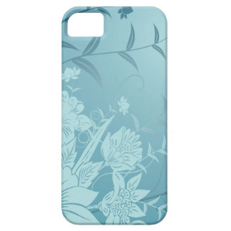 Elegant floral iPhone 5 5S case Decorative flowers iPhone 5/5S Covers
