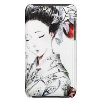 Elegant Geisha Art Barely There iPod Covers