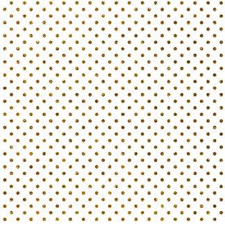 Elegant Girly Cute Polka Dots Glitter Photo Print Photo Sculpture