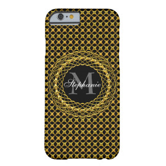 Elegant Gold Personalized Barely There iPhone 6 Case