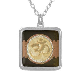 Elegant Golden OM MANTRA Chant Display Holy Symbol Jewelry