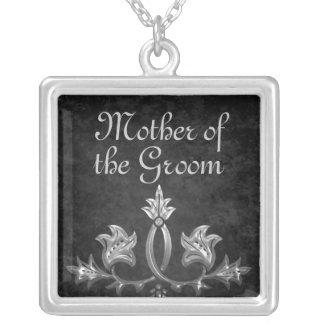 Elegant gothic dark romance mother of the groom jewelry