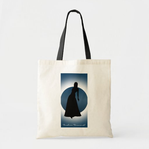 Elegant Gown Fashion Illustration Tote Bag