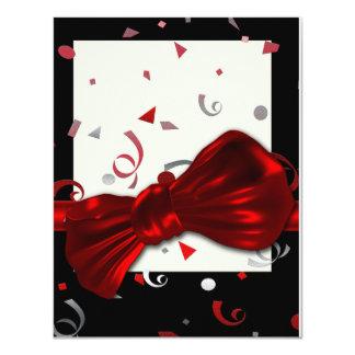 Elegant graduation prom formal party 11 cm x 14 cm invitation card