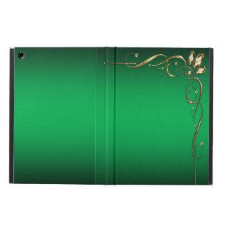 Elegant Green Cover For iPad Air