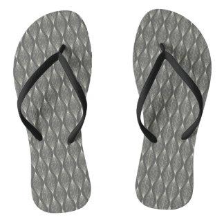 Elegant grey Flip Flops Thongs