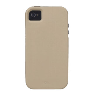 Elegant Khaki Coffee Brown - Fashion Color Trend iPhone 4/4S Cases