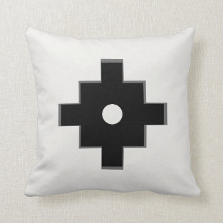 Elegant Machu Picchu Geometric Design Cushion