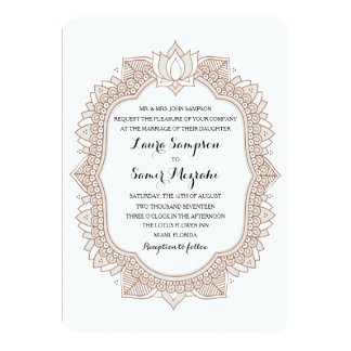 Shop Zazzle's selection of Indian wedding invitations for your special day!