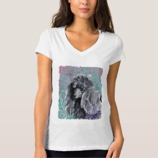 Elegant Miniature Poodle T-Shirt