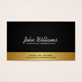 ELEGANT MINIMALIST PROFESSIONAL BUSINESS CARD
