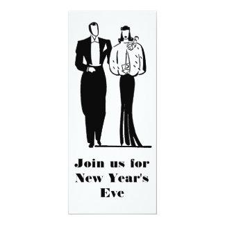 Elegant New Year's Eve Party Invitation customized