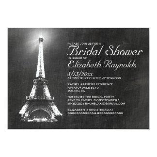 Elegant Paris Bridal Shower Invitations