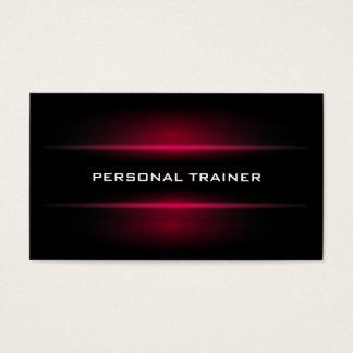 Elegant Personal Trainer Business Card