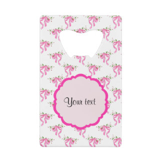 Elegant Pink Romantic Bows