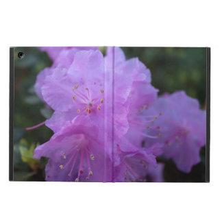 elegant, pretty spring purple azalea flowers. iPad air case