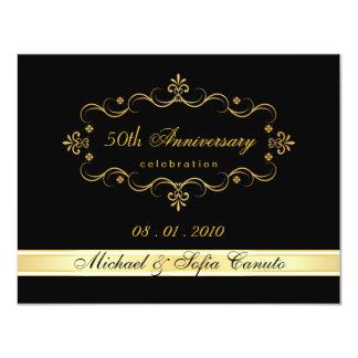 Elegant RSVP Reply Cards - Custom Request 11 Cm X 14 Cm Invitation Card