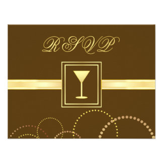 Elegant RSVP Reply Cards - Matching Invitations