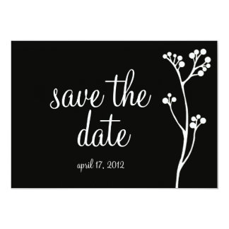 Elegant Save the Date Invitations