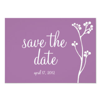 Elegant Save the Date Invitations