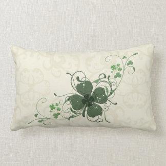 Elegant Shamrock Design American MoJo Pillow