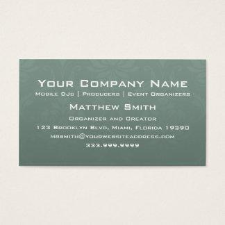 Elegant Speaker Business Card