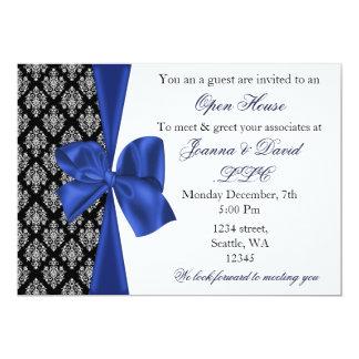 elegant stylish navy Corporate Invitation