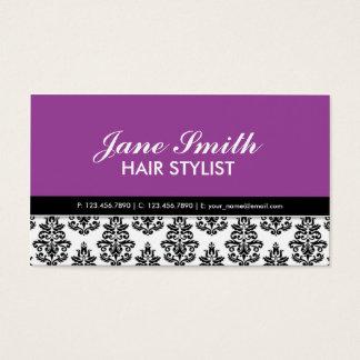 Elegant Stylist Salon Hairdresser Floral Pattern