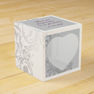 Elegant Swirl Favor/Gift Box Wedding Favour Box