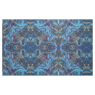 Elegant turquoise pattern fabric