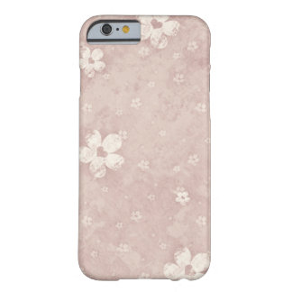 Elegant Vintage Floral Grunge Heart Barely There iPhone 6 Case