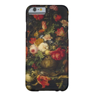Elegant Vintage Floral Vase iPhone 6 case Barely There iPhone 6 Case