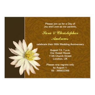 elegant wedding anniversary invitations