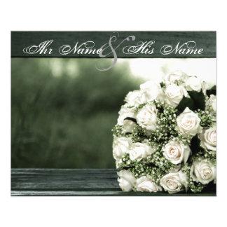 Elegant Wedding Invitations Custom Flyer