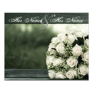Elegant Wedding Invitations Flyers