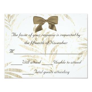 Elegant Wedding Response Card