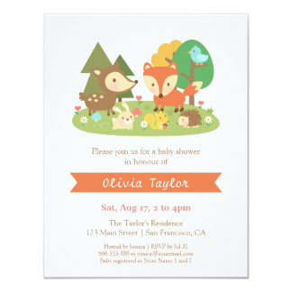 Browse Zazzle's Woodland Baby Shower Invitations Collection and personalise by colour, design, or style.