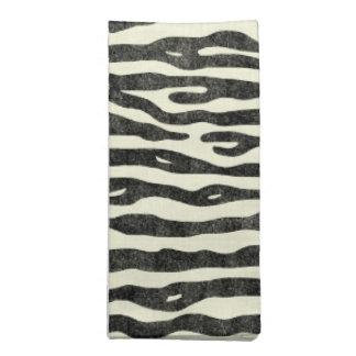 Elegant Zebra Stripes Animal Print Stylish Safari Napkin