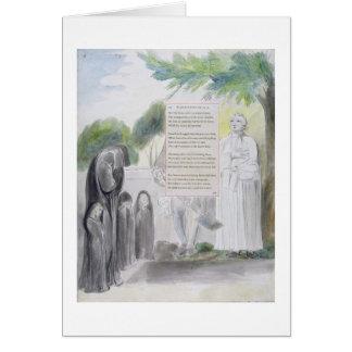 'Elegy written in a Country Church-Yard', design 1 Card