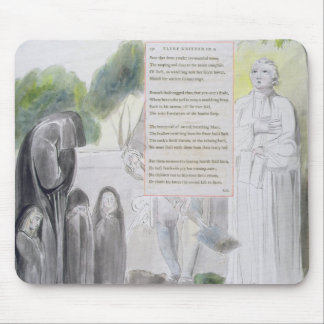 'Elegy written in a Country Church-Yard', design 1 Mouse Pad