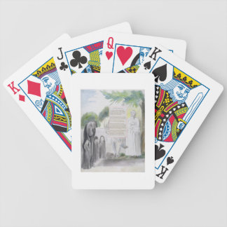 'Elegy written in a Country Church-Yard', design 1 Playing Cards
