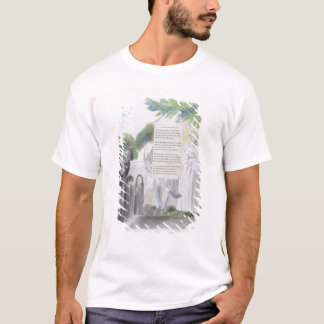 'Elegy written in a Country Church-Yard', design 1 T-Shirt