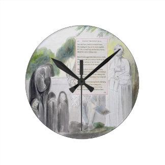 'Elegy written in a Country Church-Yard', design 1 Wall Clocks